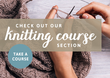 Online Knitting Courses | The Knitting Space