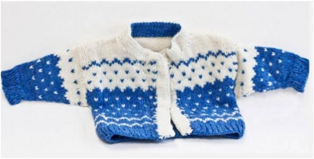 Teddy Steps knitted sweater | the knitting space