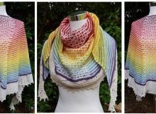 terrific Teneriffe knitted shawl | the knitting space