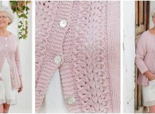 Teresa knitted lace jacket | the knitting space