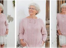 Teresa knitted lace sweater | the knitting space