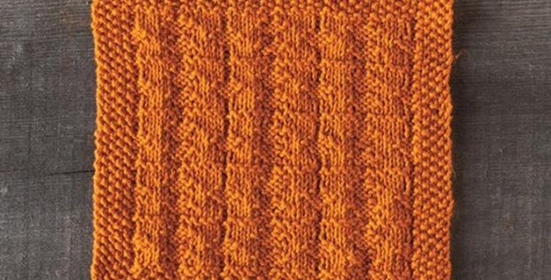 knit topaz facecloth | the knitting space