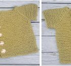 Vintage Vanilla knitted kiddie cardi | the knitting space