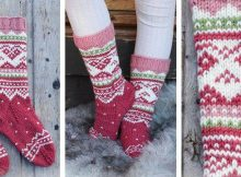 Visby knitted children's socks | the knitting space