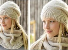 White Amaryllis knitted warmers | the knitting space
