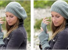 Winter Serenity knitted set | the knitting space