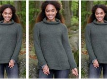 Woodland Walk knitted sweater | the knitting space