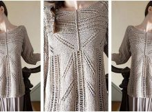 Zircon knitted lace pullover | the knitting space
