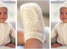 adorable Alex knitted baby set | the knitting space