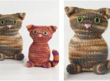 adorable Tabitha knitted toy kitty | the knitting space