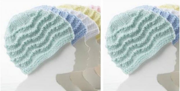 Adorable Knitted Baby Hat Free Knitting Pattern