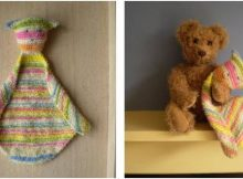 adorable knitted cuddle cloth | the knitting space