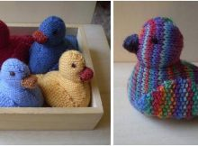adorable knitted ducklings   the knitting space