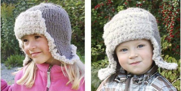 Adorable Knitted Ushanka Hat  Free Knitting Pattern  beaba8b2fc5