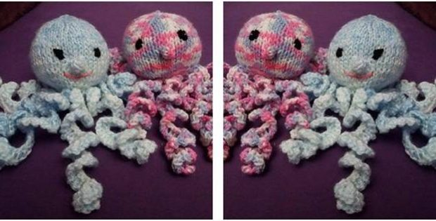 Adorable Knitted Preemie Octopus Free Knitting Pattern
