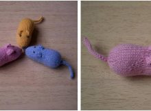 adorable sugar mice knitted toys | the knitting space