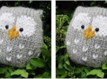 adorably stuffy knitted owl | the knitting space