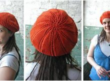 versatile knitted slouch hat | the knitting space