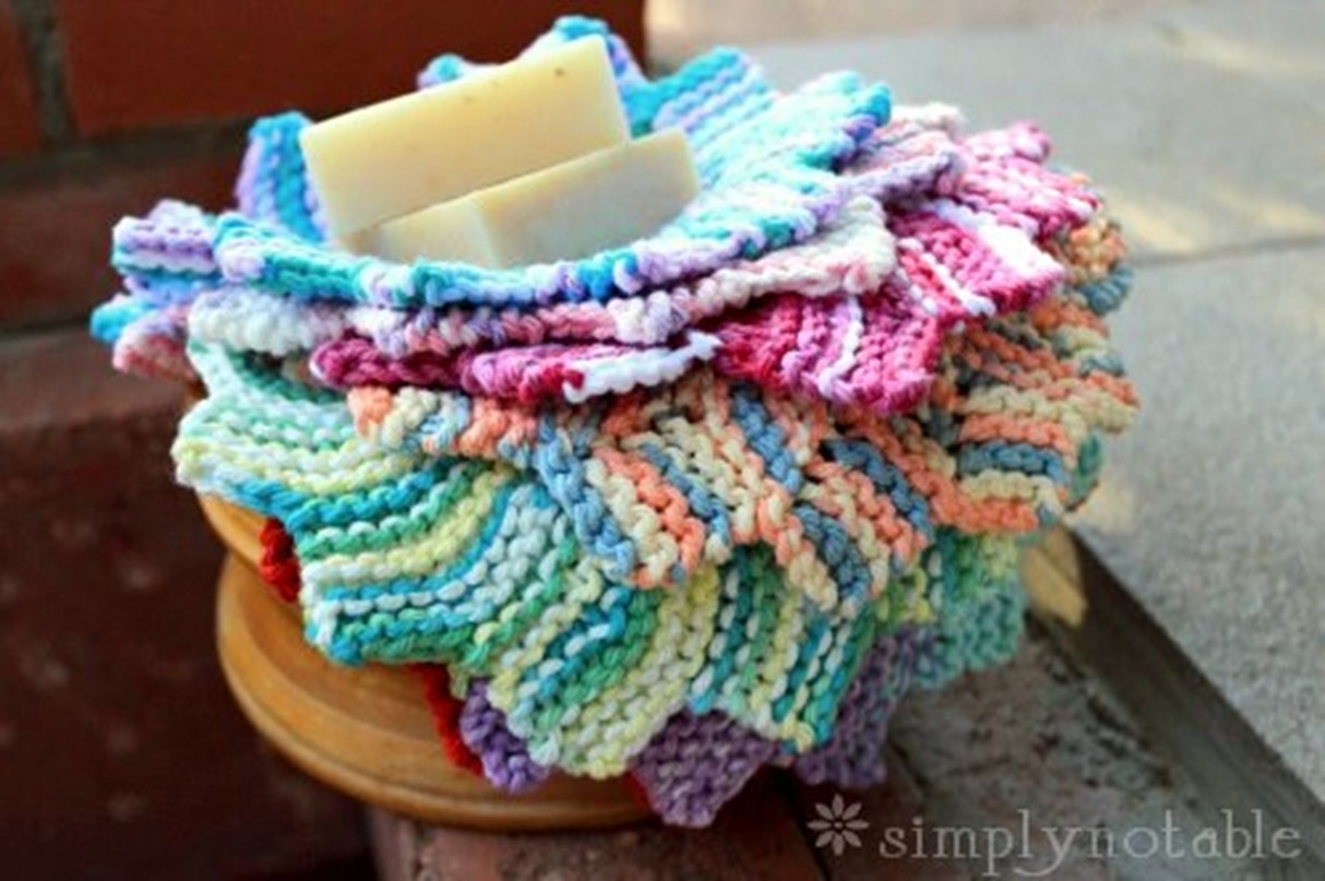 Almost Lost Knitted Washcloth [FREE Knitting Pattern]