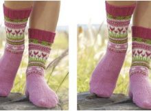 always spring knitted socks | the knitting space