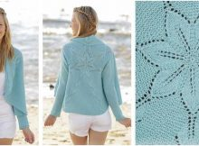 andromeda knitted jacket | the knitting space