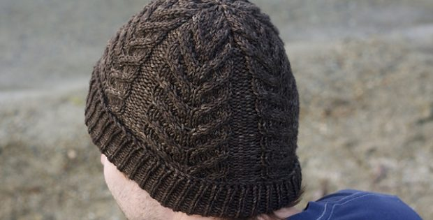Knitted Antler Cabled Toque Free Knitting Pattern
