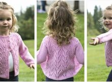 arches knitted baby cardigan | the knitting space