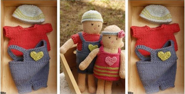 Awesome Malcolm Knitted Toy Doll Free Knitting Pattern