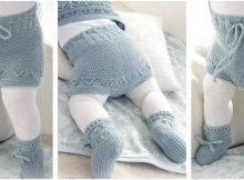 awesome Odeta knitted baby set | the knitting space