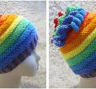 awesome Whirlygig knitted rainbow hat | the knitting space