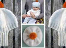 adorable knitted baby chariot hat | the knitting space