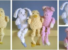 baby long legs knitted toys   the knitting space