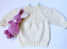 cute knitted baby octopus sweater | the knitting space