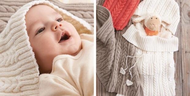 Knit Baby Sleep Sack Free Knitting Pattern