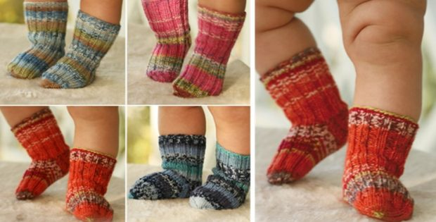 Knitted Baby Socks Galore Free Knitting Pattern