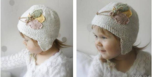 bubbly balloons knitted baby hat | the knitting space