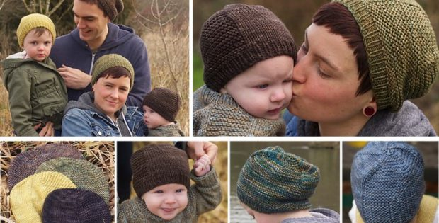8bec95d6d Barley Knitted Unisex Family Hat [FREE Knitting Pattern]