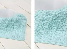 basic stitch knitted dishcloth | the knitting space