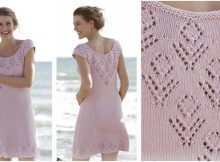 beach date knitted lace dress | the knitting space