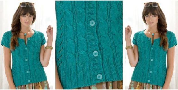 beautiful Anisette knitted cardi | the knitting space