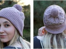 beautiful argyle knitted hat | the knitting space