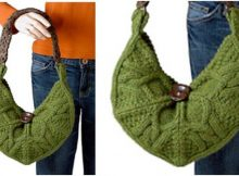 beautiful brea knitted bag | the knitting space