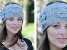 beautiful knitted cable headband | the knitting space