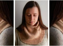 beautiful pivot knitted cowl | the knitting space