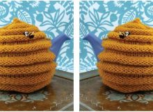 fun beehive knitted tea cozy | the knitting space