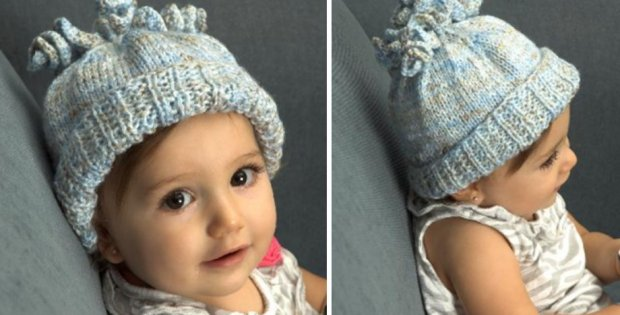 Beenz Knitted Corkscrew Hat Free Knitting Pattern