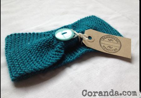 Knitted Beginners Headband Free Knitting Pattern