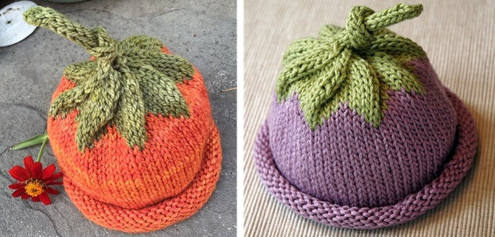Adorable Knitted Berry Baby Hat [FREE Knitting Pattern]