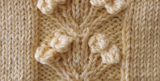 Knitted Bobble Stitch A How To Knitting Video Tutorial