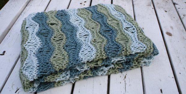 991173da987e Breezy Knitted Baby Blanket  FREE Knitting Pattern